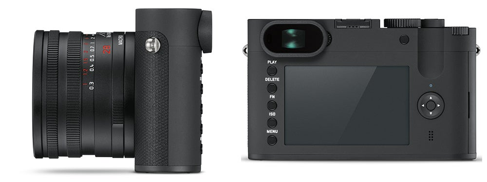 Leica Q Camera side and back