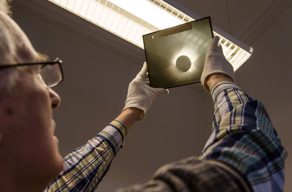 Century Old Space Photographs Discovered in a Basement