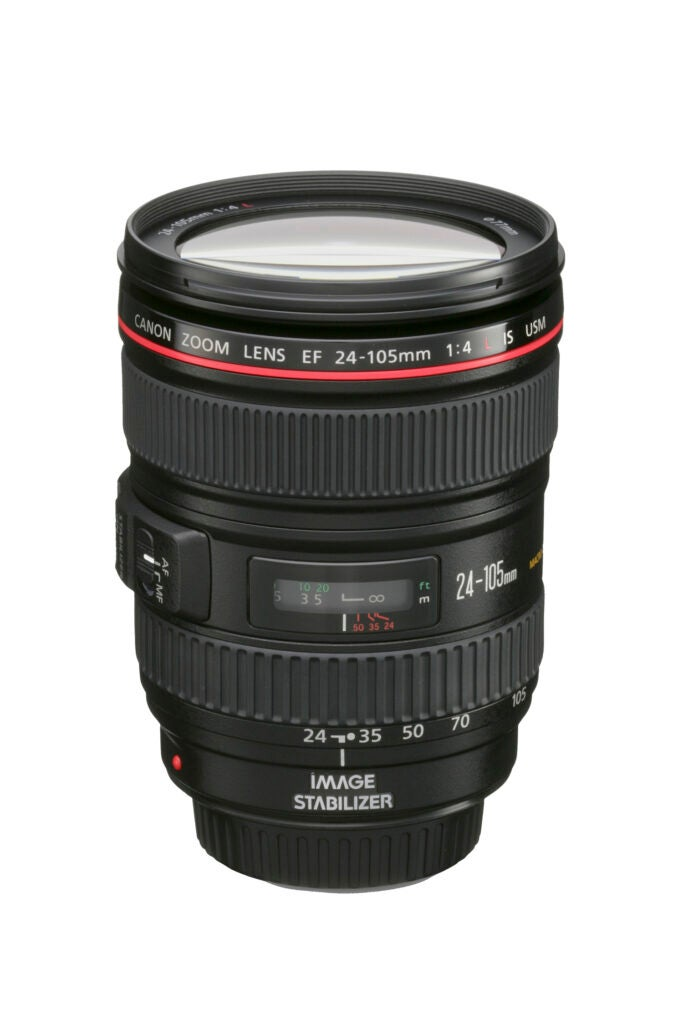 [Canon EF 24–105mm f/4L usm](https://www.usa.canon.com/internet/portal/us/home/products/details/lenses/ef/standard-zoom/ef-24-105mm-f-4l-is-usm//): By zooming to this lens's short, medium, and long sett
