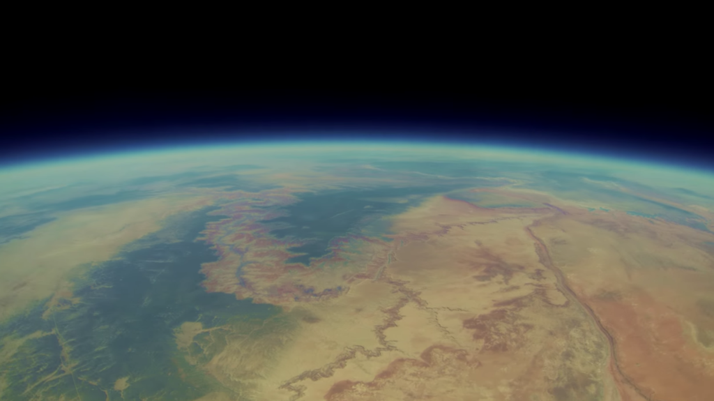 GoPro Camera Went to space and came back with earth pictures