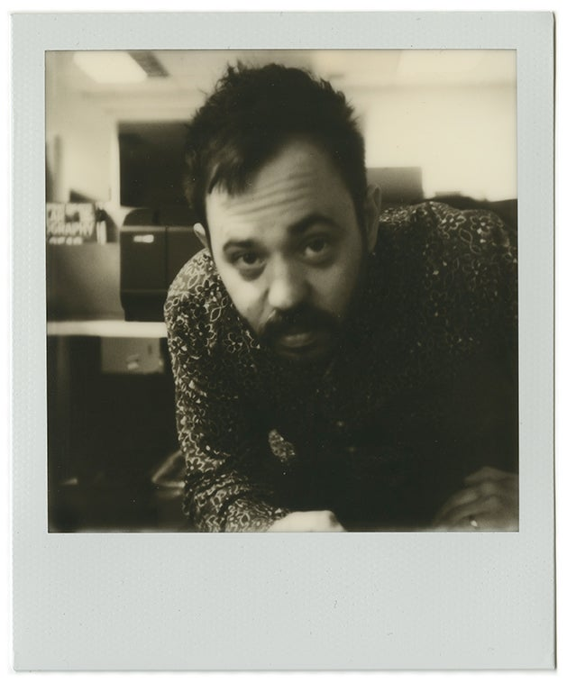 Photo taken with the I-1 using Impossible's black-and-white I-type film