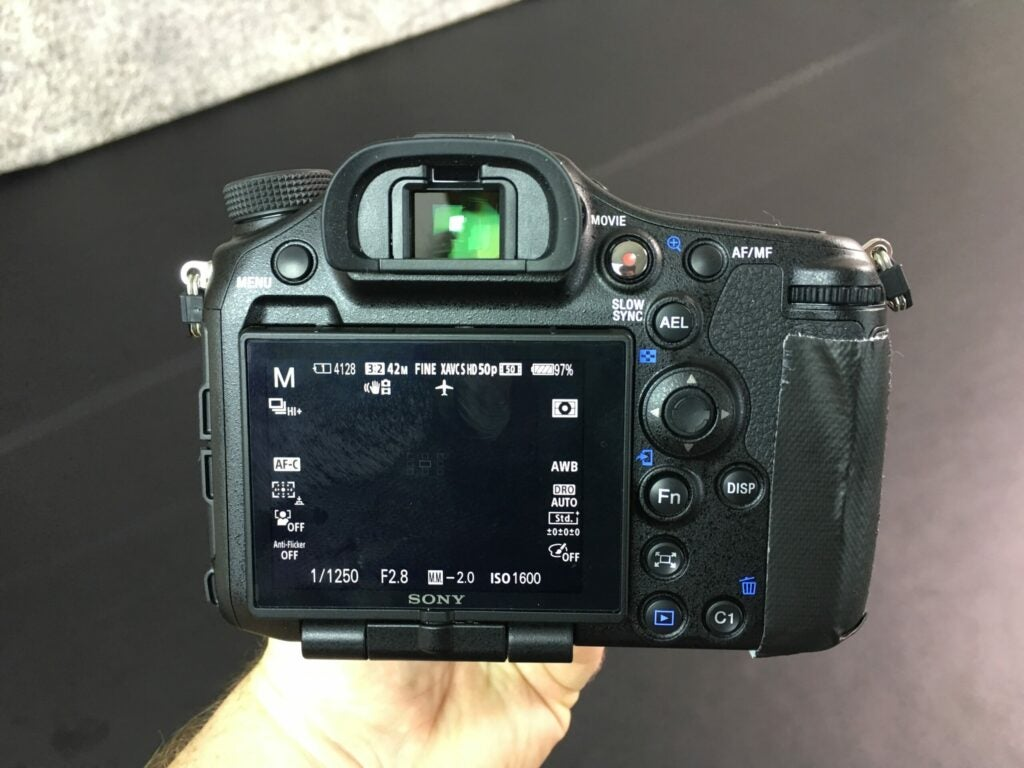 Hands-on: Sony A998 flagship camera