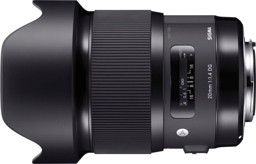 Sigma 20mm F/1.4 Art Prime Lens for Landscape and architectural photography