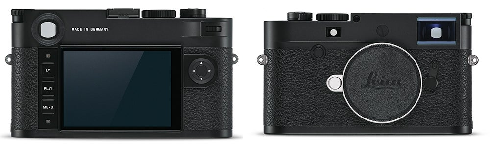 Leica M-10P Camera front and back