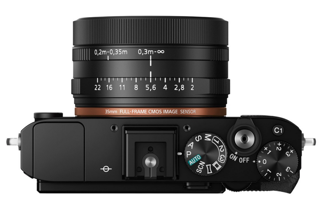 Sony RX1R II Full-Frame Compact Camera With Built-In EVF