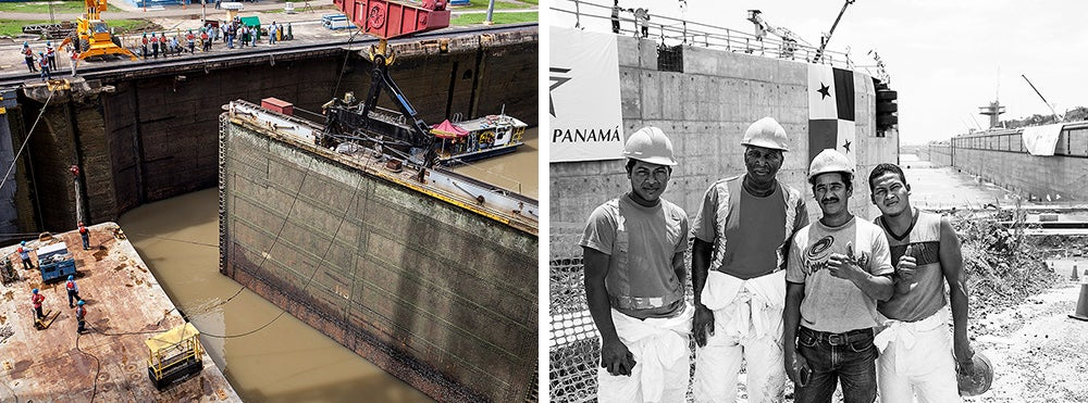 panama canal expansion ceremony