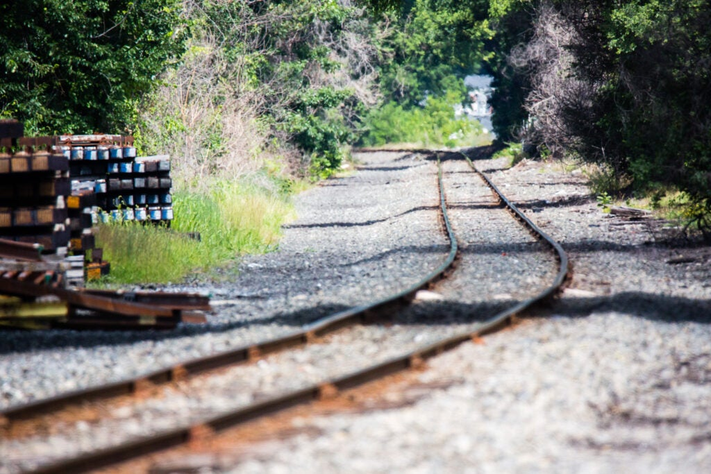 Don't do photoshoots on train tracks because you might die