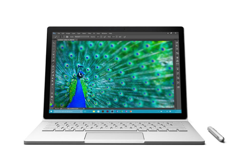 Microsoft Surface Book Tablet Computer