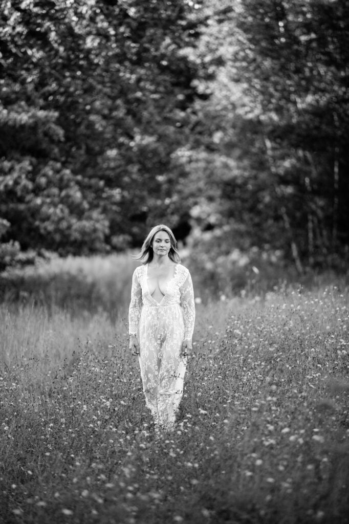 The Dress: lace dress from amazon for portrait photography
