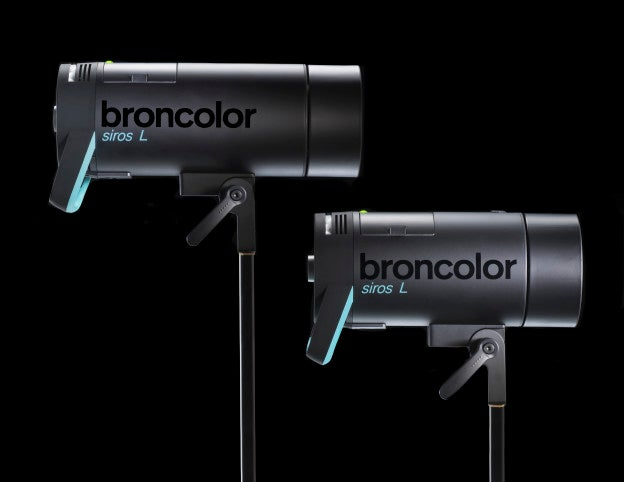 Broncolo Siros L Battery-Powered Monolight Flashes