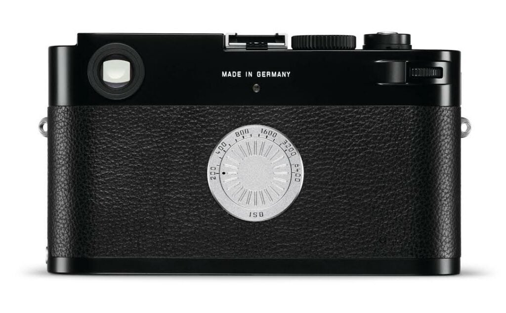 Leica M-D Digital Rangefinder Camera With No LCD Screen