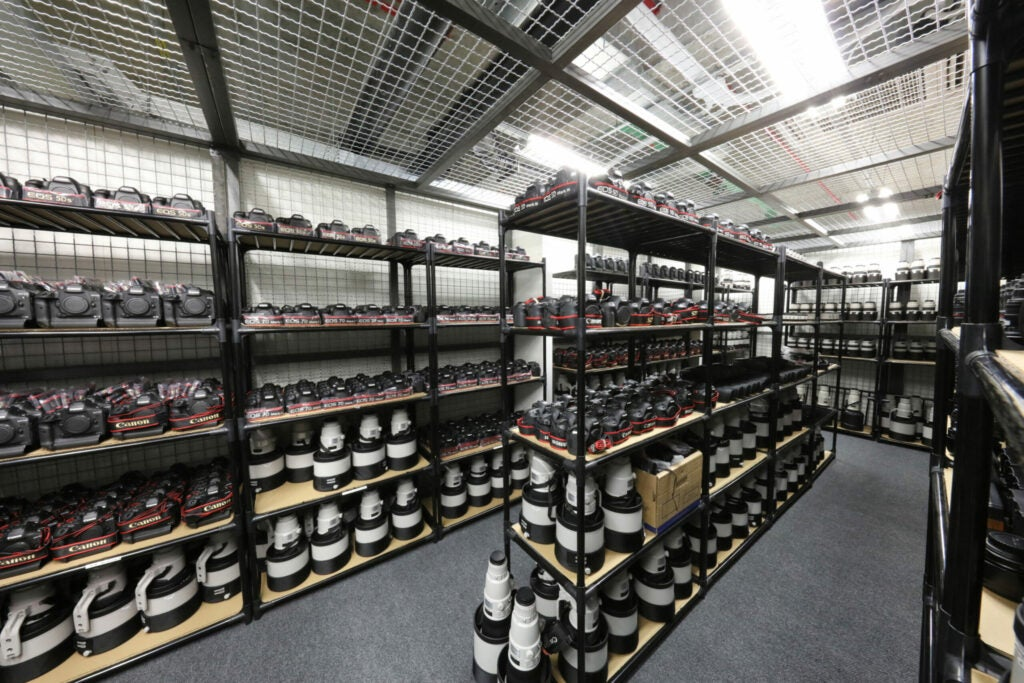 Canon Professional Services Room At the Rio Olympics