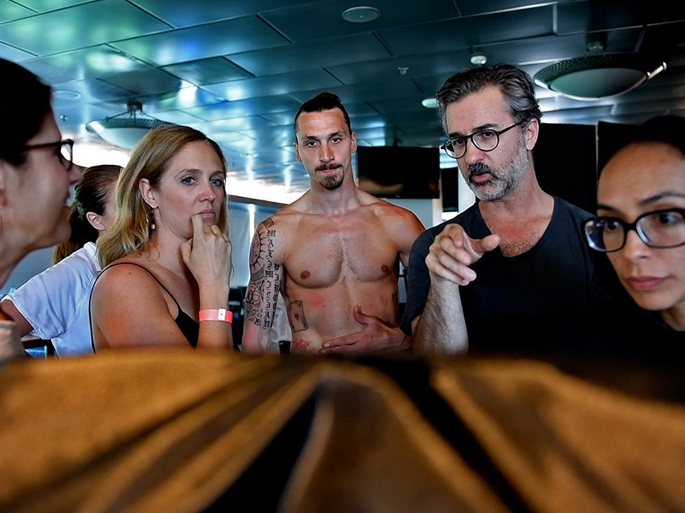 planning for ESPN Body Issue
