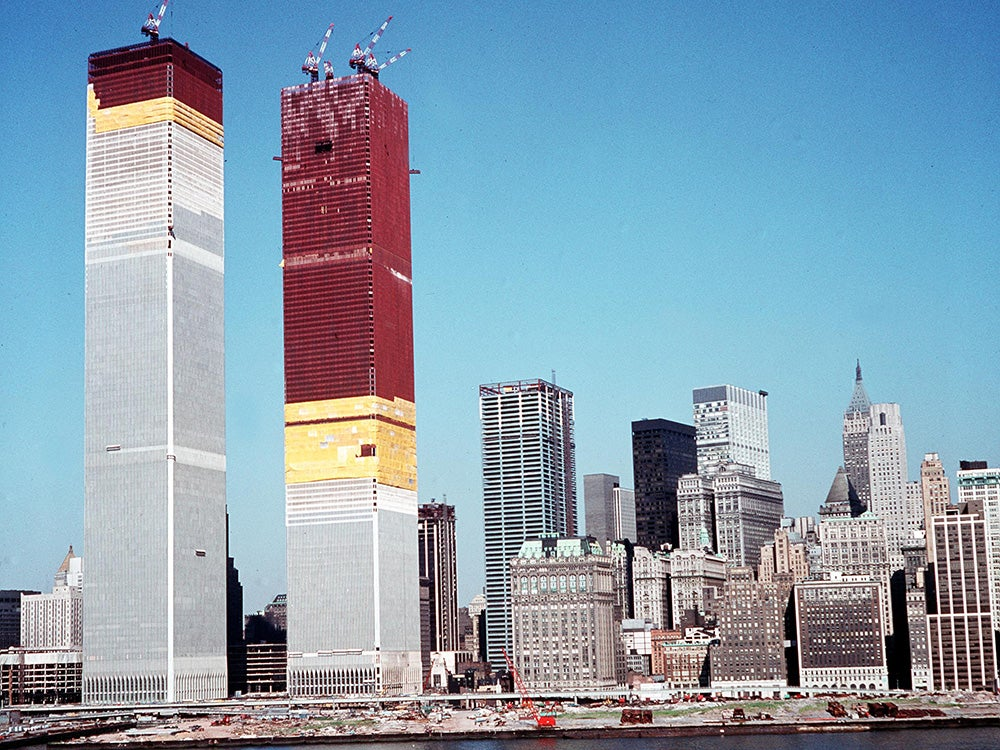 twin tower construction