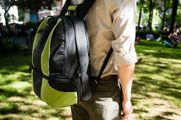backpack hanging too low on back
