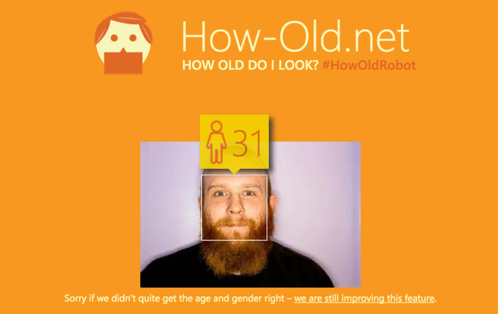 How-Old.net can tell your age from a picture
