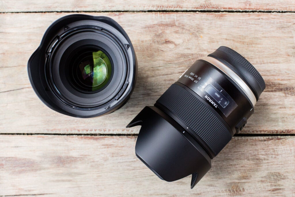 Tamron 35mm F/1.8 VC SP and 45mm F/1.8 VC SP