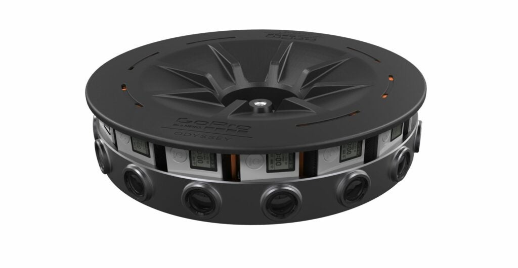 GoPro Odyssey 16 Camera Array for Virtual Reality Imaging