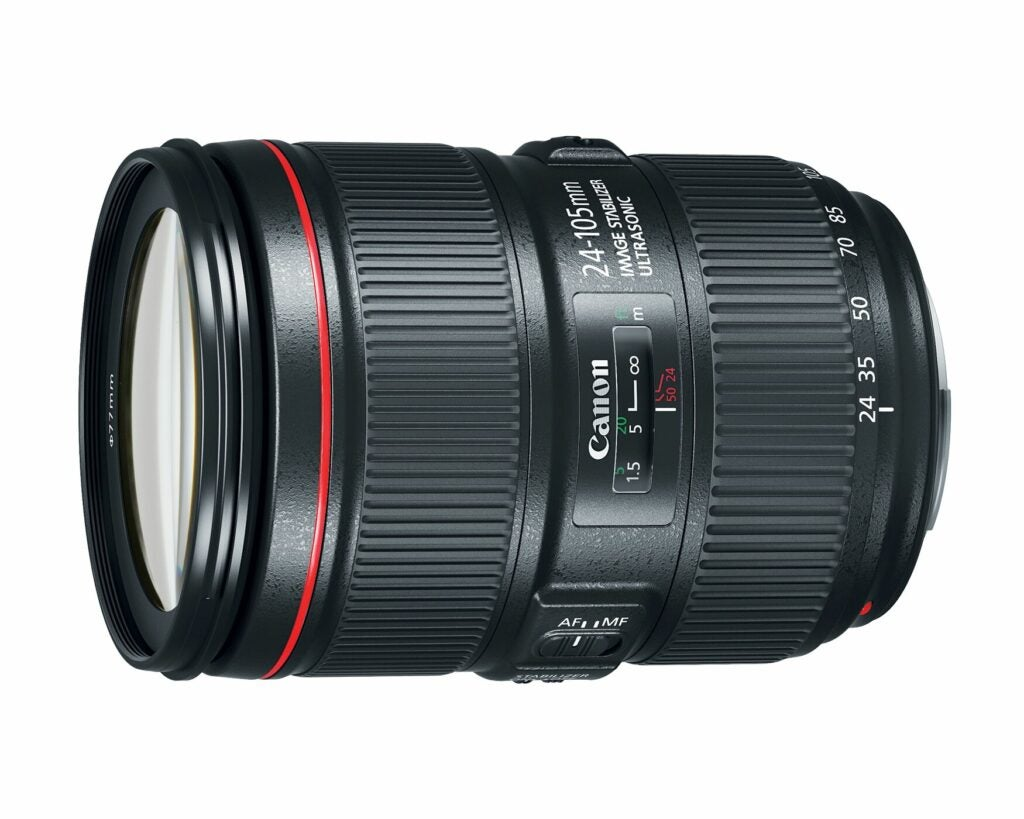 Canon 24-105mm f/4L IS II USM Zoom lens