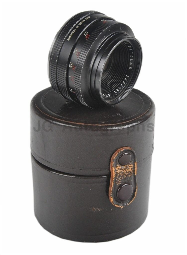 Jacqueline Kennedy Onassis Cameras Up For Auction on eBay