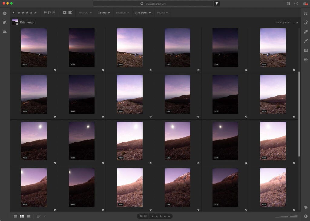 Lightroom HDR and Panorama merge How To