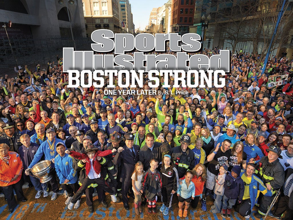 Gregory Heisler Boston Strong Sports Illustrated Cover Photo