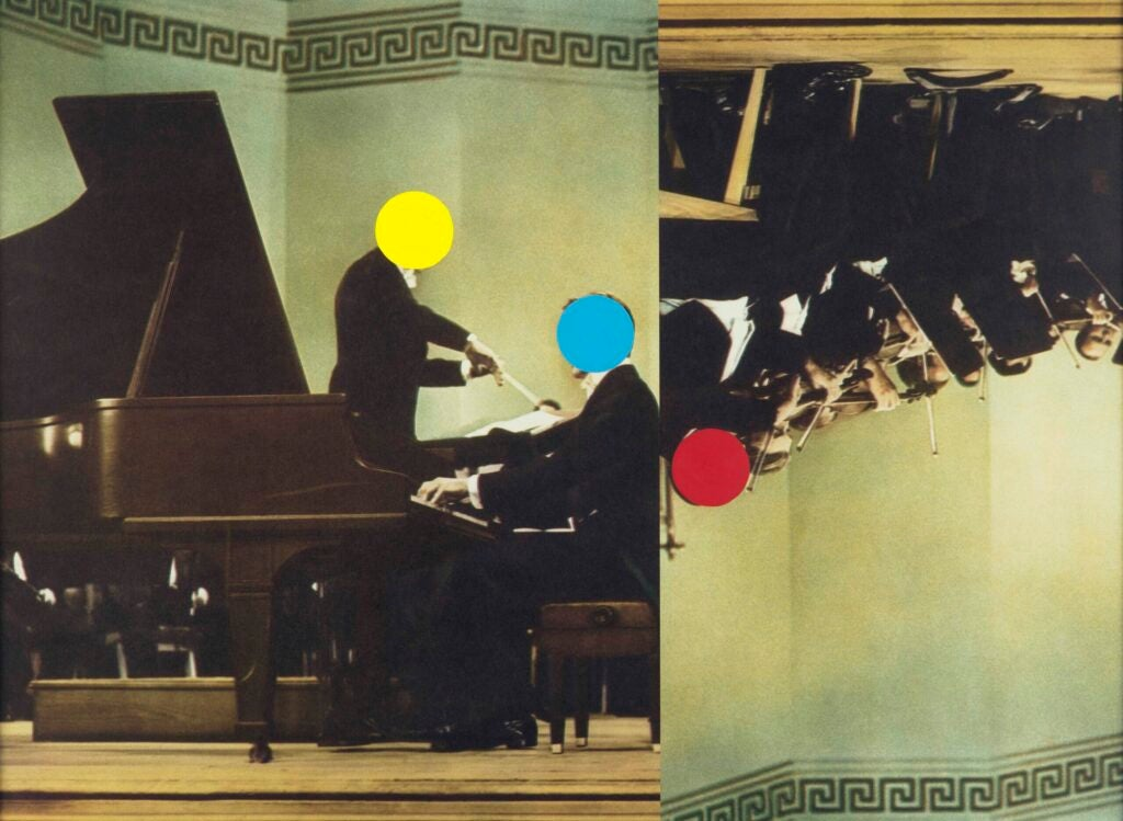 """""""Conductor/Pianist/Orchestra (Red/Yellow/Blue),"""" 1995/2007"""