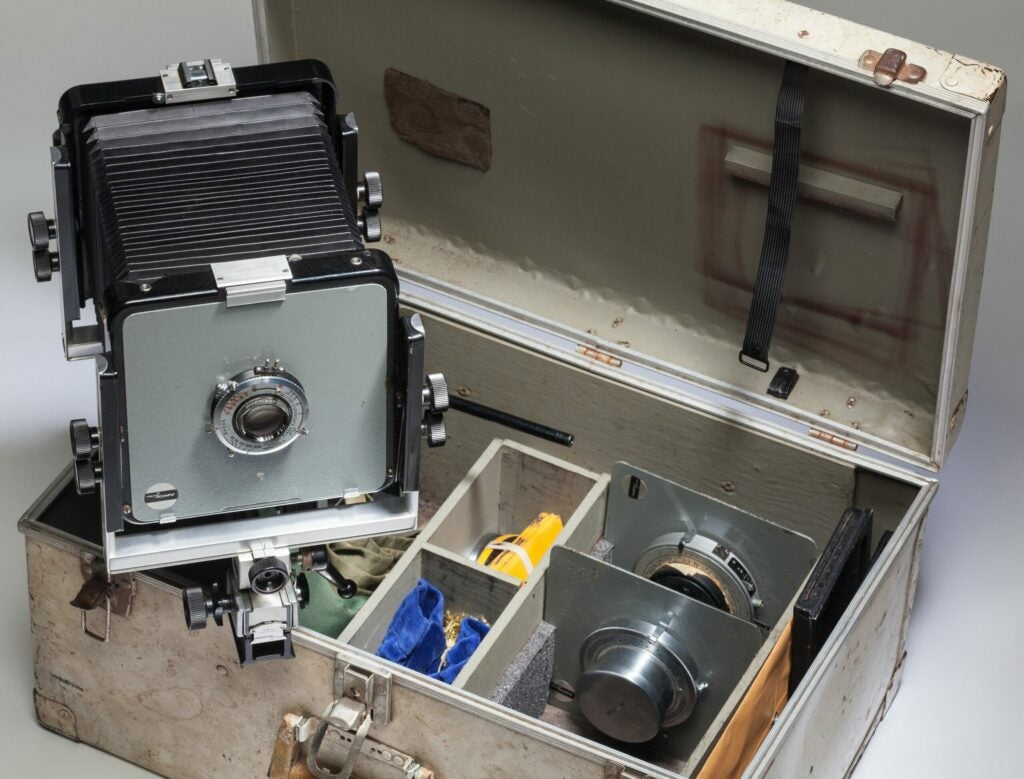 Ansel Adams Camera Up For Auction Arca Swiss