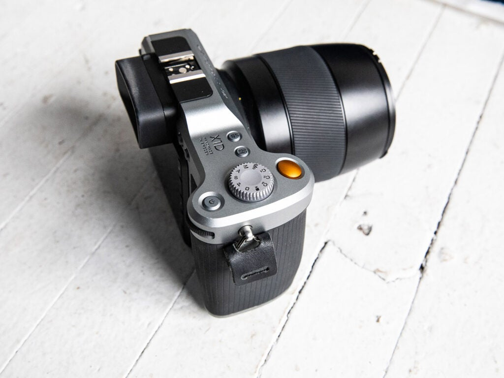 Hasselblad X1D Camera top side view