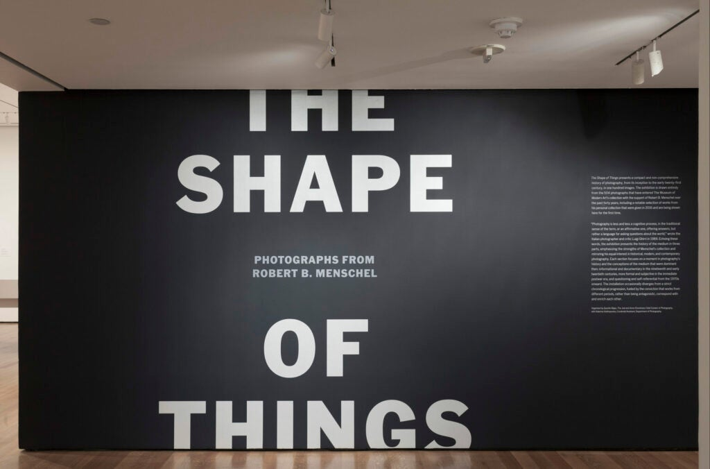 The Shape of Things - exhibition photograph
