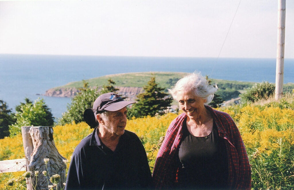 Robert Frank with his wife June