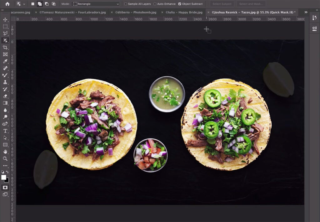 Object Selection Tool in Photoshop