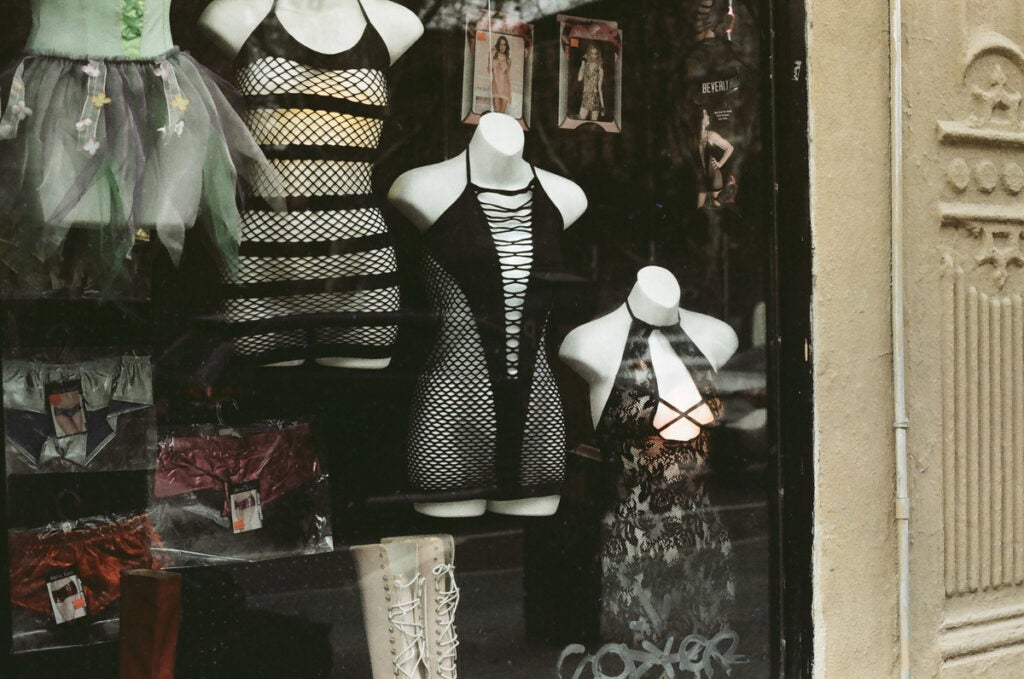 Storefront in the East Village