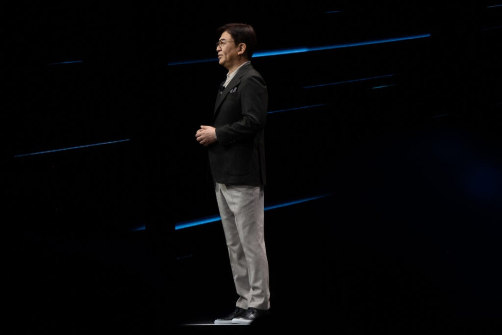 H.S. Kim, President and CEO of Consumer Electronics Division at Samsung